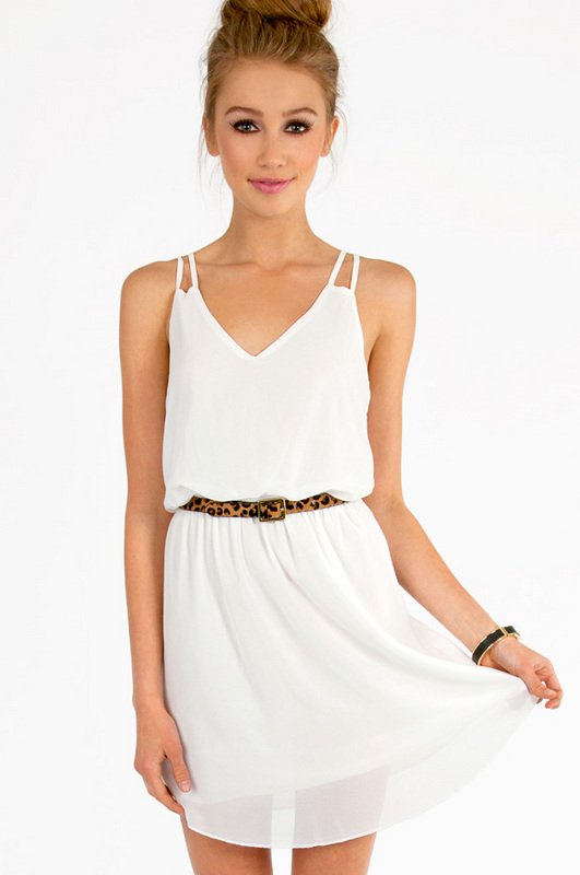 Look Fresh and Lively with Your Little White Dress