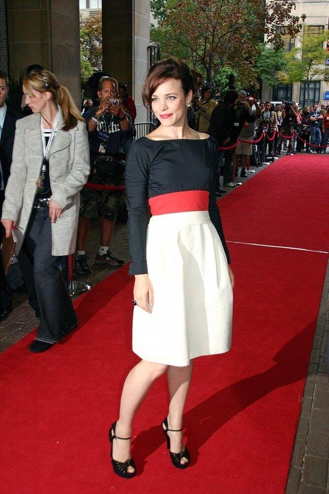Rachel McAdams, in a Gucci Resort Collection dress, at MARRIED LIFE Premiere at the 32nd Annual Toronto International Film Festival, Ryerson Theatre, Toronto September 12, 2007