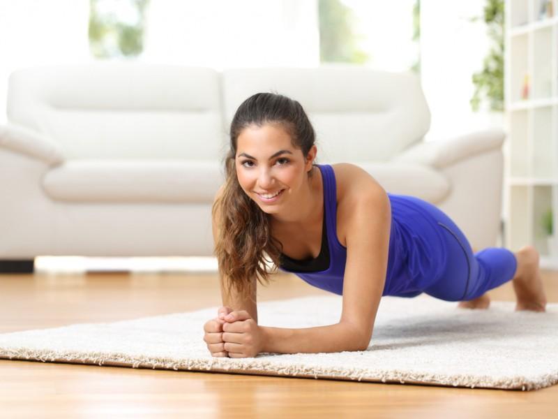 MediaShelf A Daily Exercise Routine Under 20 Minutes plank