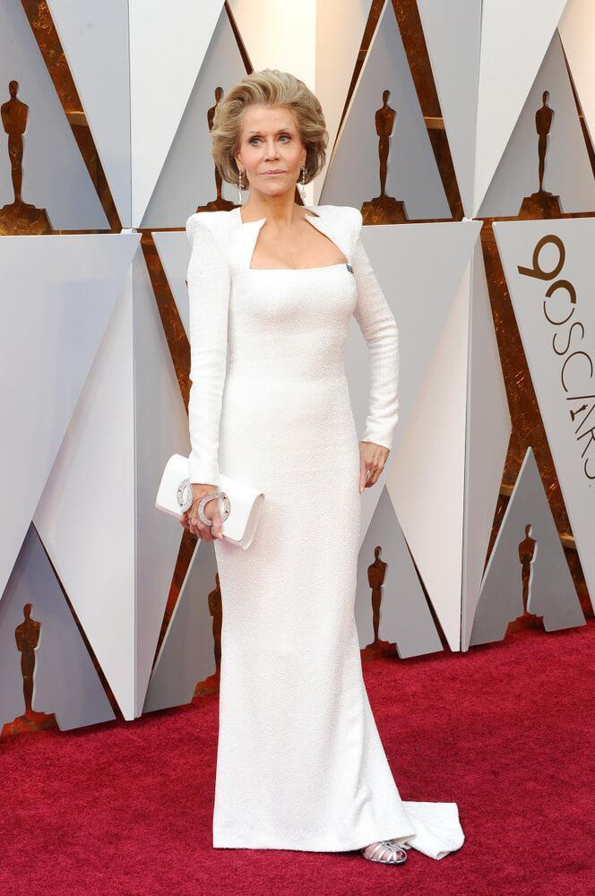 Jane Fonda at the 90th Academy Awards
