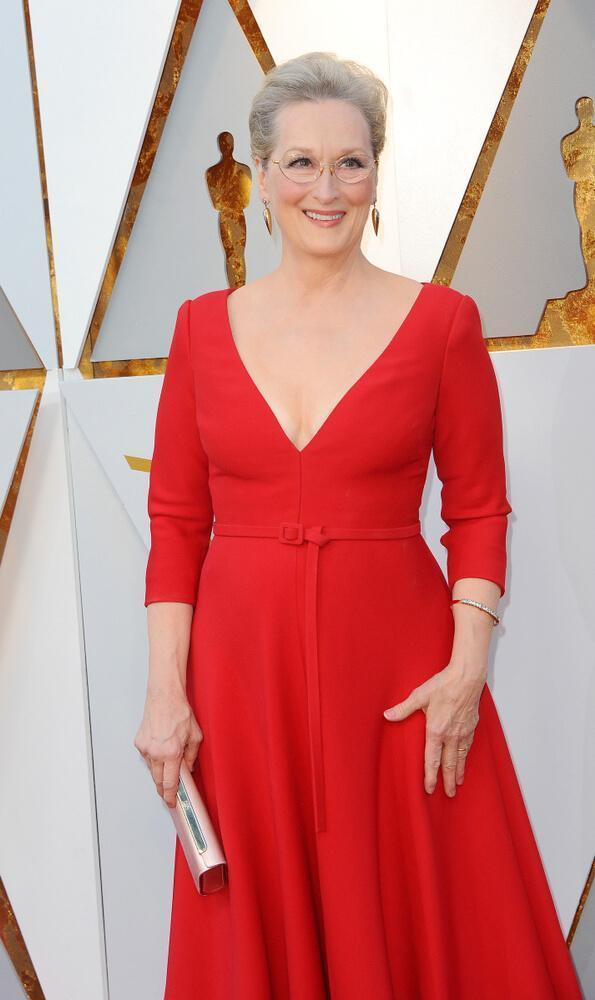 Meryl Streep at the 90th Academy Awards