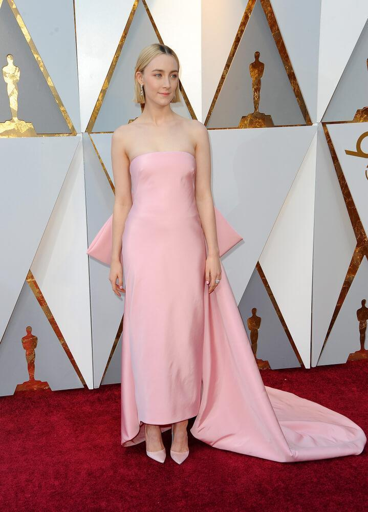 Saoirse Ronan at the 90th Academy Awards