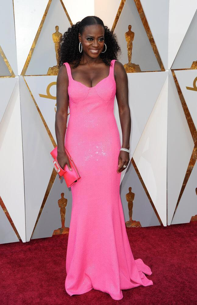 Viola Davis at the 90th Academy Awards