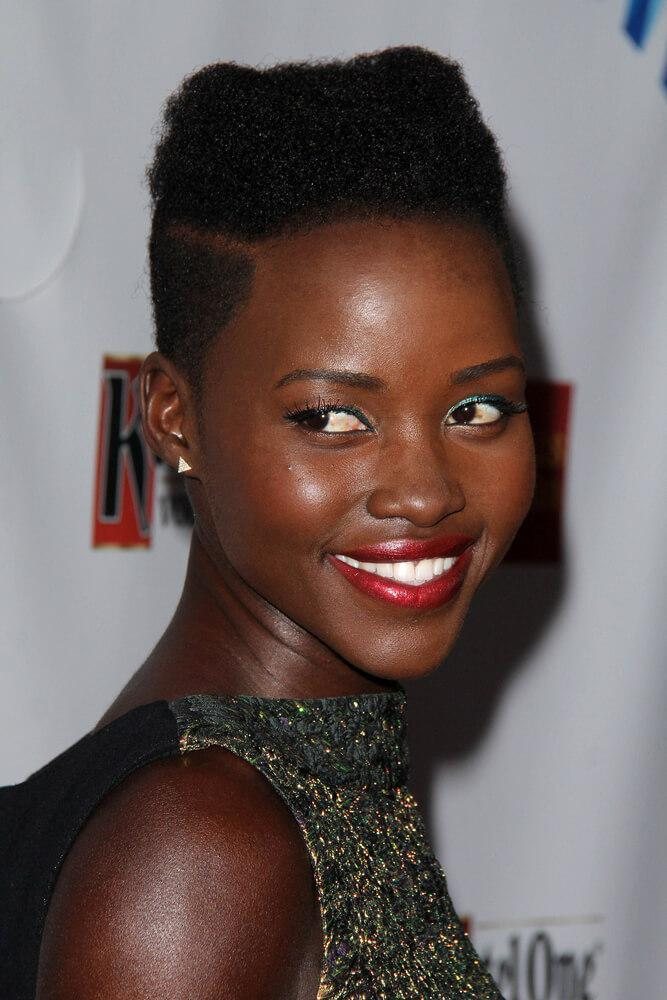 LOS ANGELES - APR 12: Lupita Nyong'o at the GLAAD Media Awards at Beverly Hilton Hotel on April 12, 2014 in Beverly Hills, CA