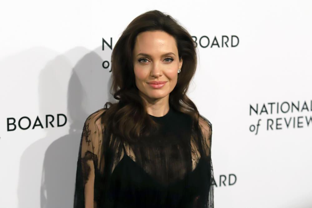 NEW YORK - JAN 9, 2018: Angelina Jolie attends the National Board of Review Awards at Cipriani on January 9, 2018, in New York