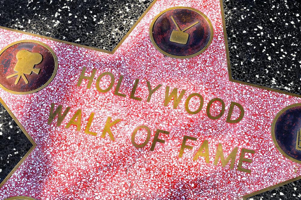 Star on Hollywood Walk of Fame