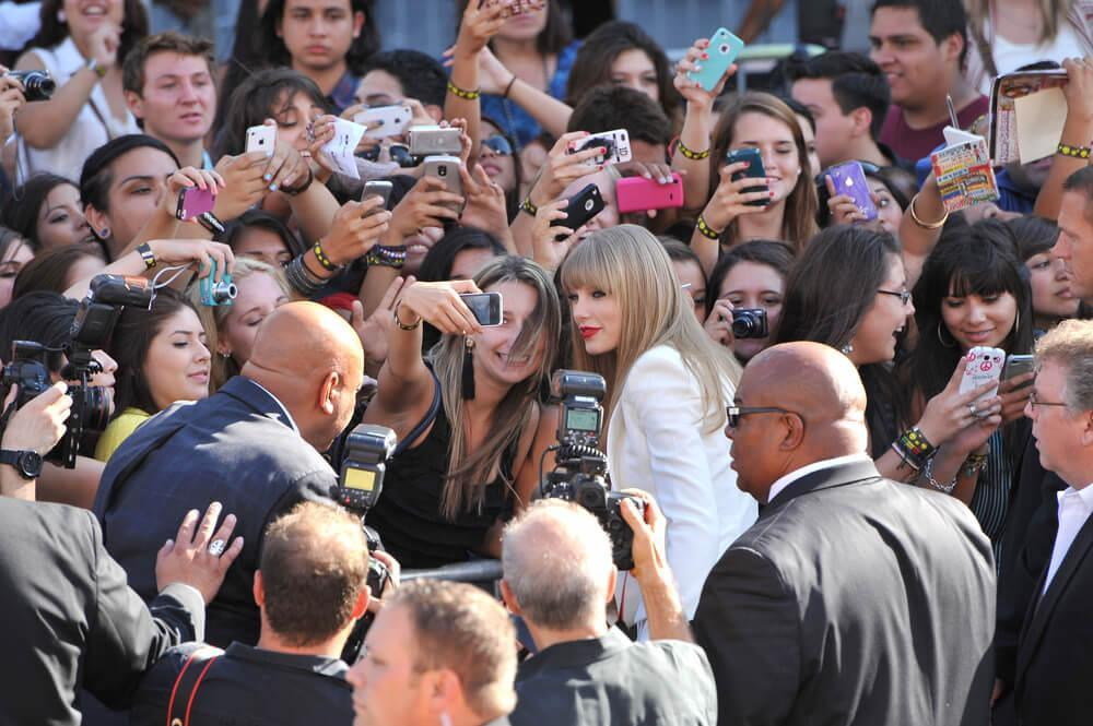 Taylor Swift at the 2012 MTV Video Music Awards at Staples Center, Los Angeles. September 6, 2012 Los Angeles, CA