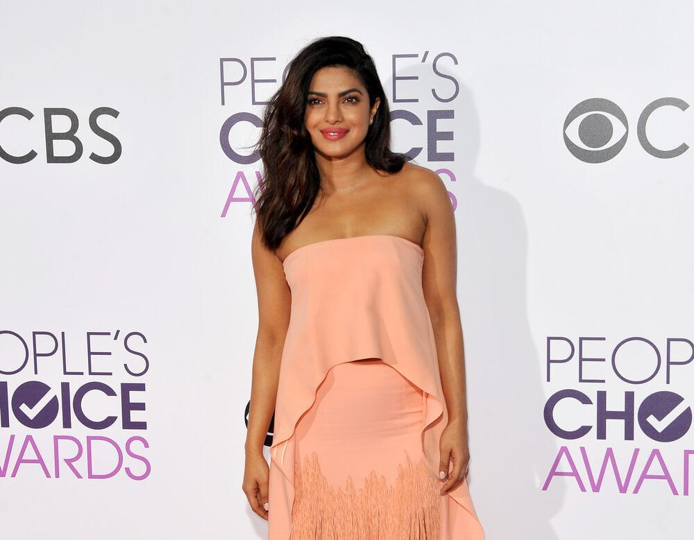 Priyanka Chopra at the People's Choice Awards 2017 held at the Microsoft Theater in Los Angeles, USA on January 18, 2017.