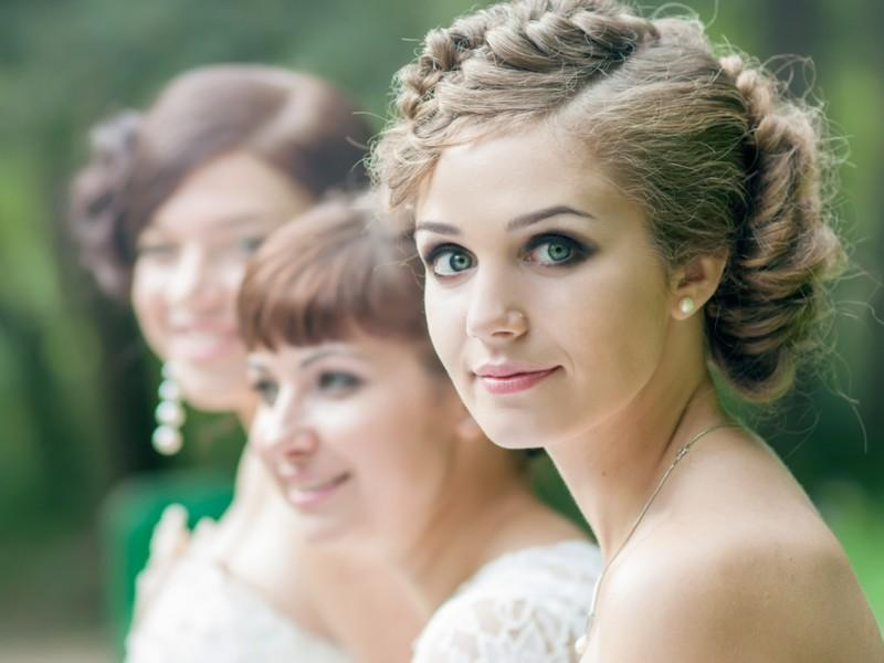 Bride and her friends.